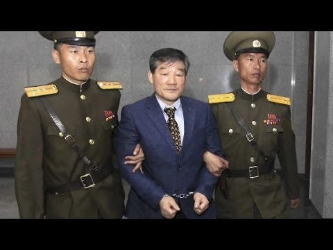 North Korea sentences U.S. citizen to hard labor
