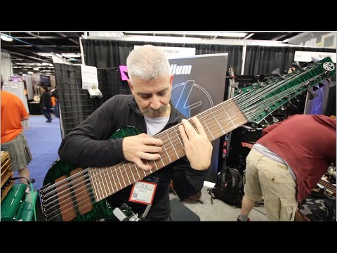 24 STRING BASS!!! and .266 GAUGE KALIUM STRINGS