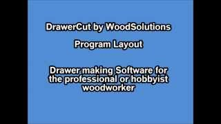 Woodworking Software-Wood Solutions-DrawerCut