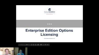 How to license Oracle DB EE options
