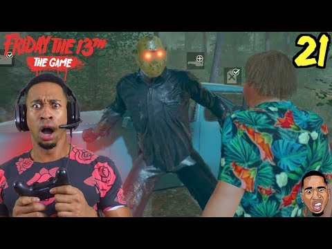 WHY IS JASON SO SAVAGE ?!? Friday the 13th Gameplay #21