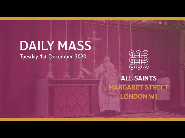 Daily Mass on the 1st December 2020