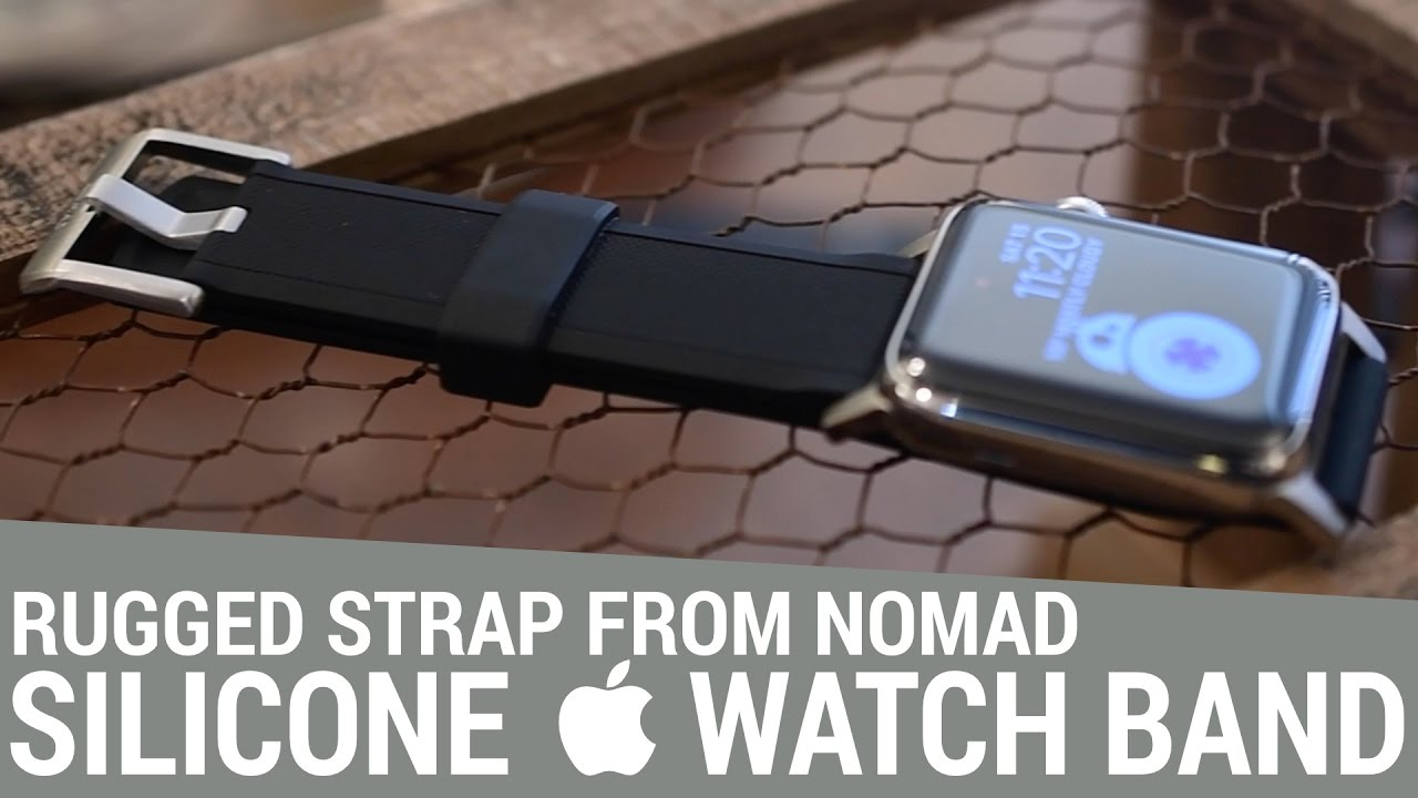 Nomad S Silicone Strap Is A Rugged Take On Le Sports Bands For Watch You