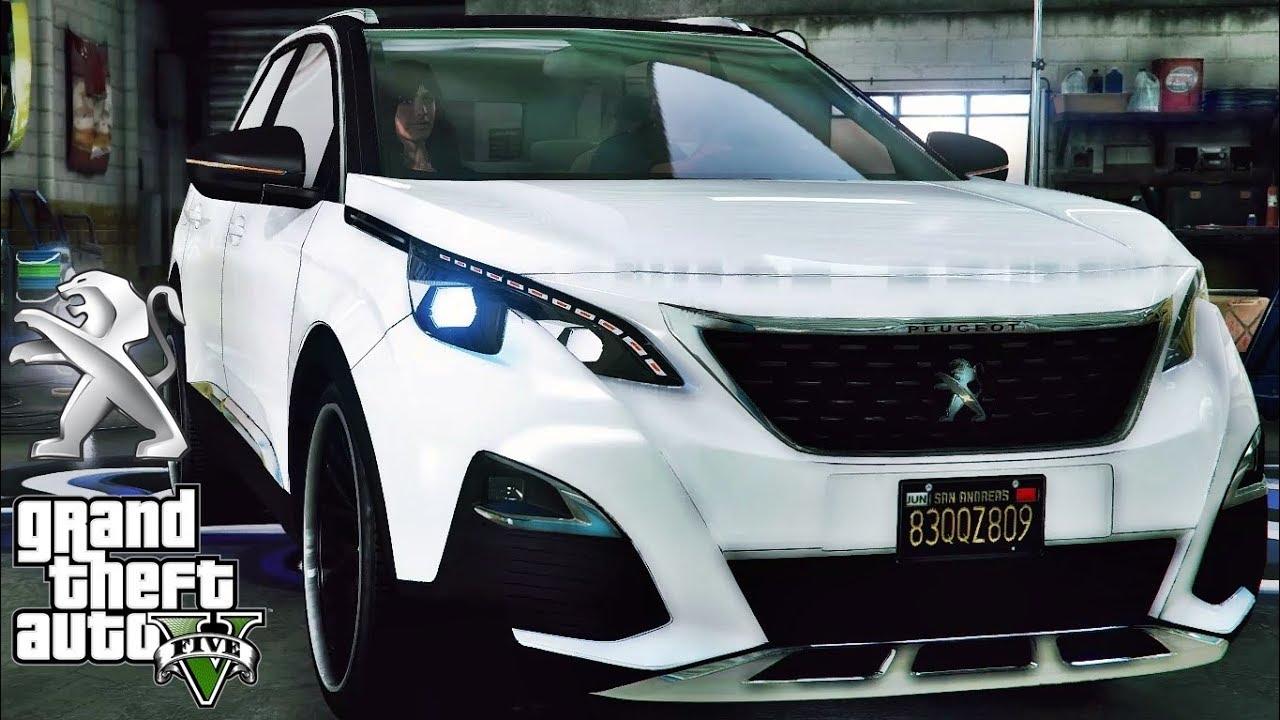 Peugeot 2008 2018 >> Peugeot 3008 tuning - GTA V MSI GeForce GTX 1080 Ti GAMING X !!! - YouTube