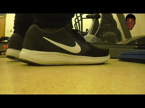 1d5afe92c63e Nike Revolution 3 Review (on feet) - YouTube