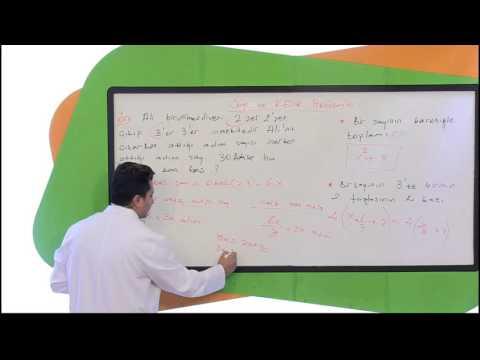 KPSS Matematik Problemler Konusu