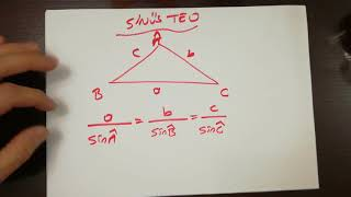 Kosinüs ve sinüs teoremi sinüs alan formülü  TRİGONOMETRİ AYT 14.DERS