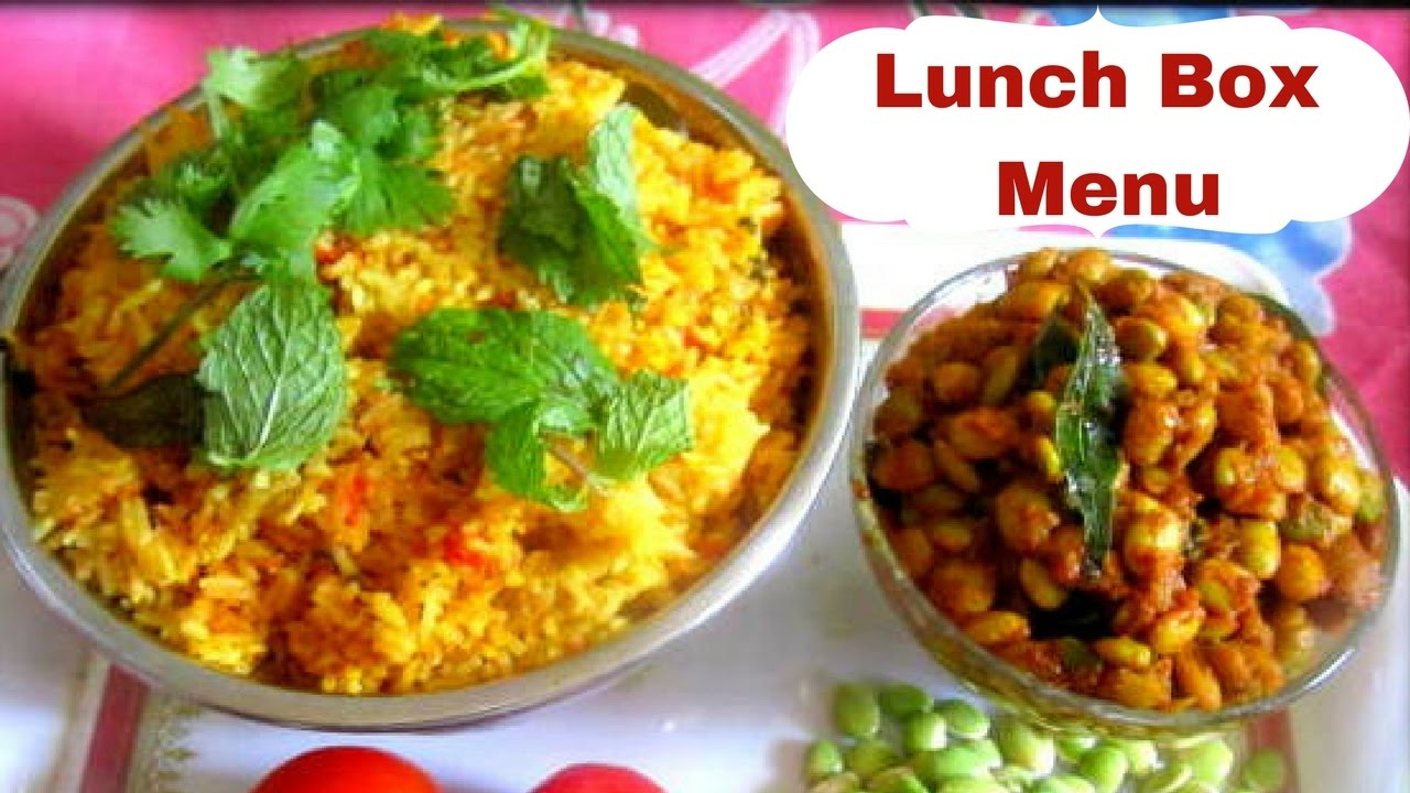 Easy lunch menu recipe |Quick Lunch Box Menu in Tamil | Tamil Food Corner