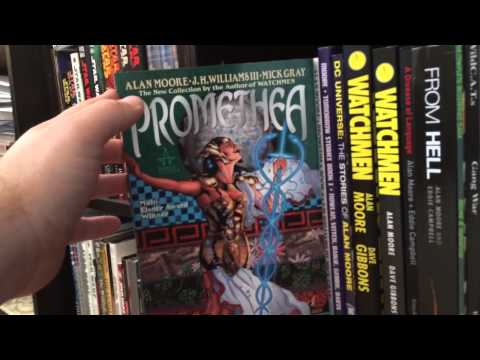 Alan Moore Comic Book Collection