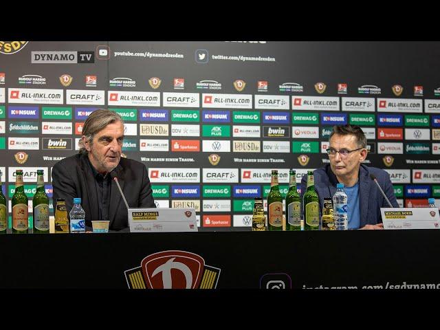 Pressekonferenz mit Ralf Minge und Michael Born