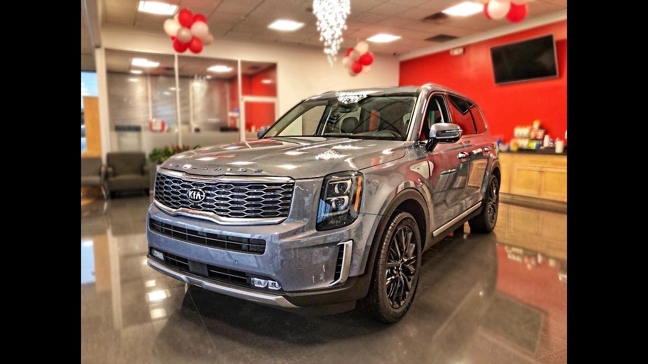 2020 Telluride Ex L Kia Telluride L Kia Telluride Walkaround Review Youtube