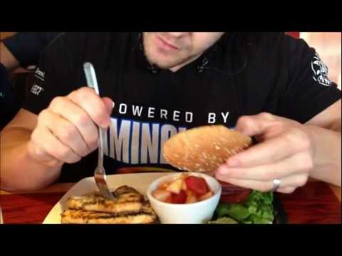 16 Weeks Out Prep Meal at The Red Robin Restaurant | Tiger Fitness