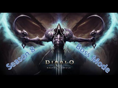 [Season 8] - Diablo 3 - Boss Mode Conquest - Crusader