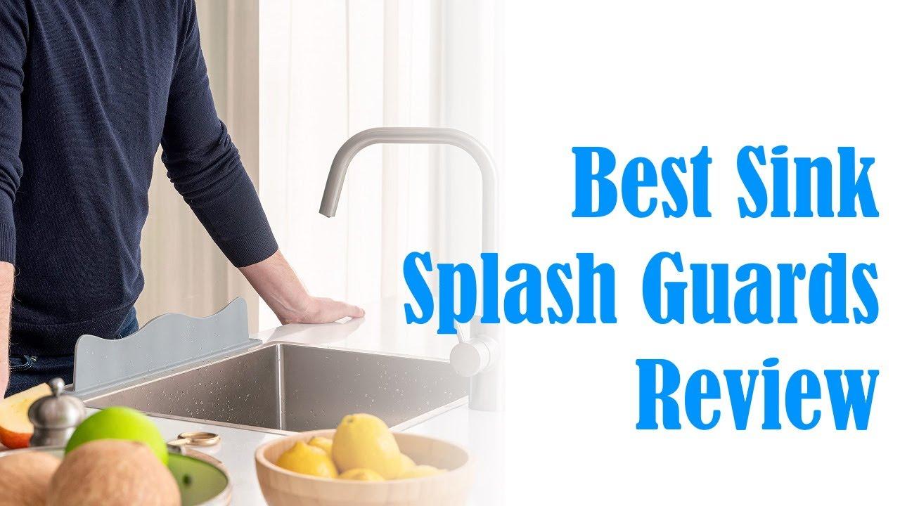 best sink splash guards review kitchen hand wash island backsplash wall shield