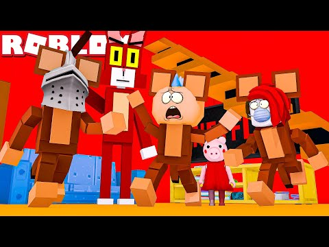 Deh Epic Cat God Roblox We Are Trapped With Roblox Kitty In Piggys Peppa Pigs World With Odd Foxx And Gallant Gaming Youtube