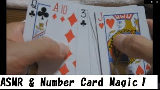Number Trick Card Magic Tutorial & ASMRtist Voice♪