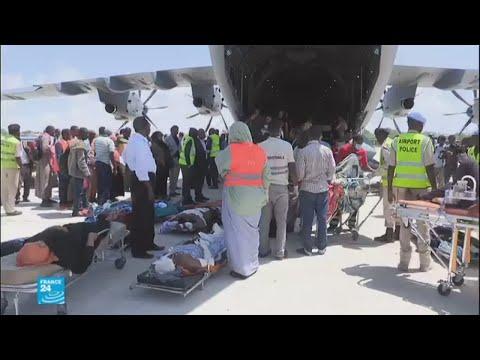 تركيا ترسل طائرة محملة بالمساعدات لإغاثة ضحايا اعتداء مقديشو  - 12:22-2017 / 10 / 17