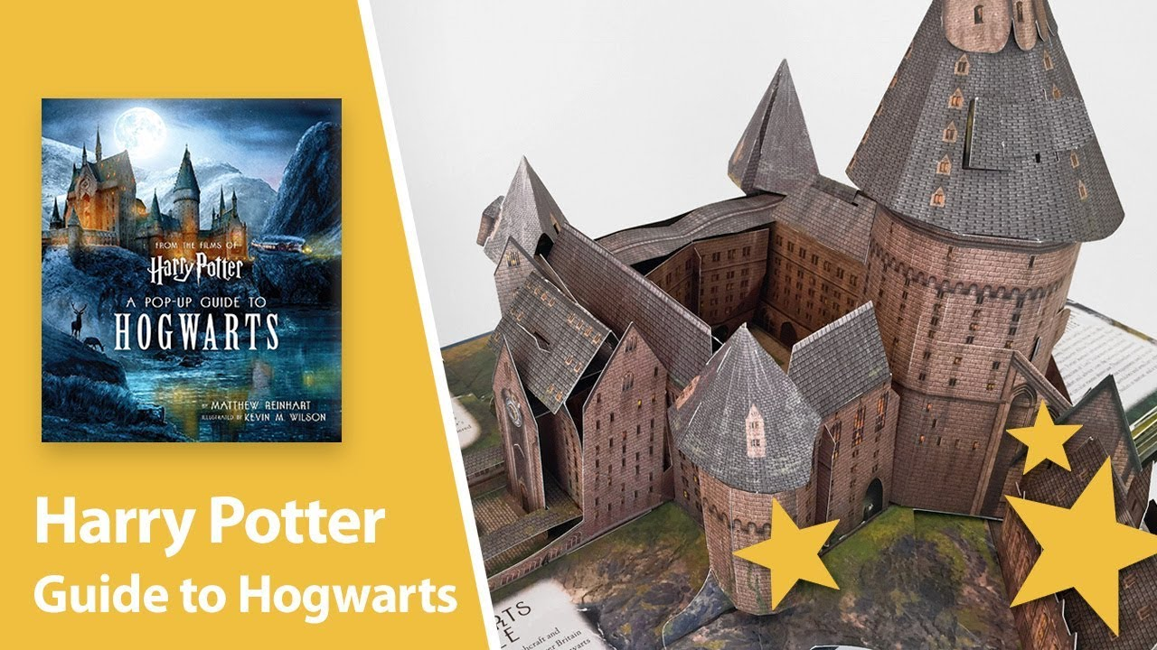 Harry Potter A Pop Up Guide To Hogwarts By Matthew Reinhart