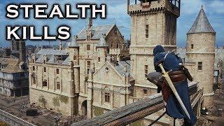 Assassin's Creed Unity: Stealth Kills Gameplay - Flawless Assassin - Mission Walkthrough - Vol.21