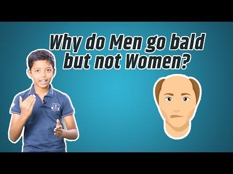Why do Men go Bald but not Women? | QuickScience #13