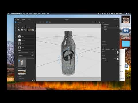 How to Create and Import Models into Adobe Dimension CC