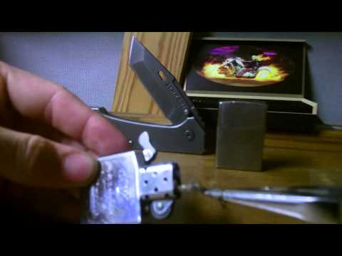 How to fix your Zippo wick