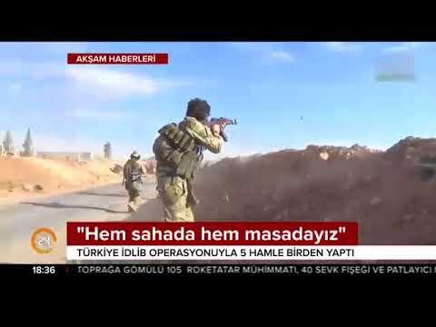 Türkiye, İdlib operasyonuyla aynı anda 5 hamle yaptı