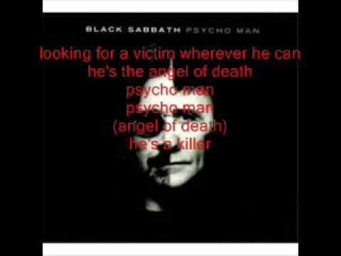 black sabbath psycho man lyrics