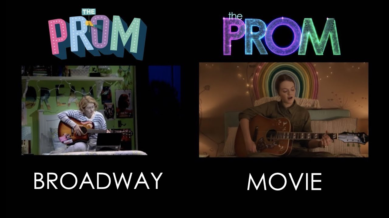 """Download Unruly Heart from """"The Prom"""" comparison of the Movie and the Broadway Production"""