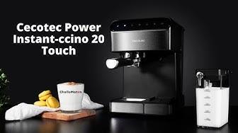 Imagen del video: TECNOLOGÍA: Review de la cafetera Cecotec Power Instant-ccino 20 Touch
