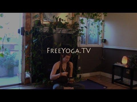 Full 90min Intermediate Hatha Yoga Class, with Bryn... FreeYoga.TV