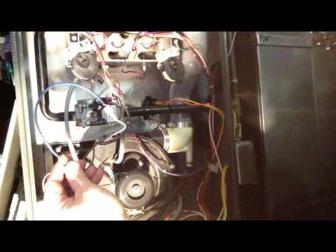 Troubleshoot the pressure switch on the 80% AFUE gas fu ...