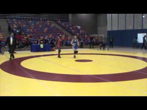 2013 Nordhagen Classic: 48 kg Bronze Erin Golston (USA) vs. Augusta Eve (CAN)