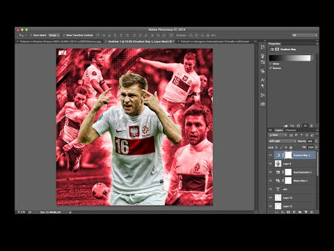 How to Make a BTB or DeezyDesign Edit :: Tutorial World Football Artwork