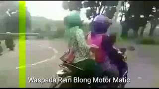 Detik Detik Motor Matic Vario Rem Blong
