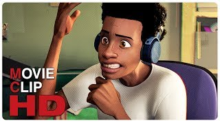 Miles Sings Post Malone Scene | SPIDER-MAN: INTO THE SPIDER-VERSE (2018) Movie CLIP HD