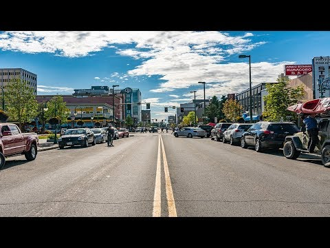 Touring Downtown Anchorage, Alaska