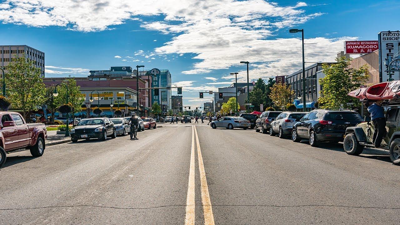 Touring Downtown Anchorage Alaska Youtube