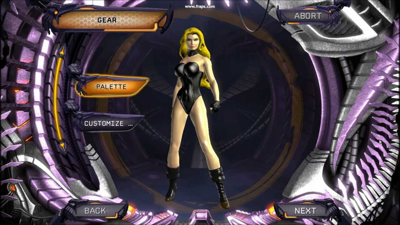 Dc Universe Online Black Canary Character Creationhd -5647