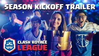 Clash Royale League: OFFICIAL 2018 Season Kickoff Trailer!