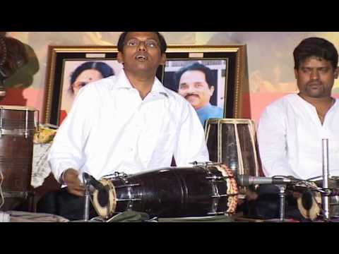 Dholki Performance in Silver Jubilee Celebration of Shiv Sena in Aurangabad, by Nilesh Parab