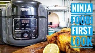 Ninja FOODi First look and crispy roast chicken recipe | Ninja Foodi Recipes