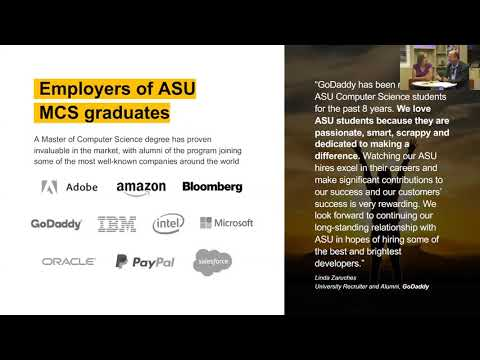 ASU's Online Master of Computer Science [Admissions Webinar - September 26]