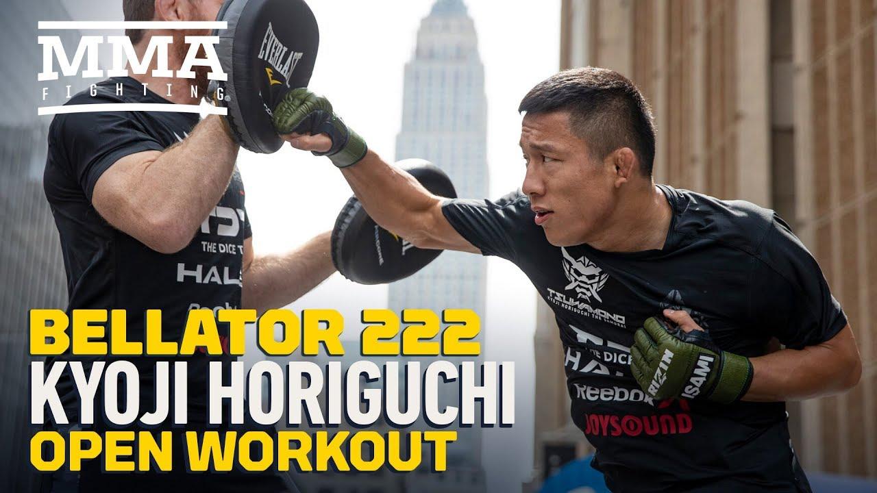 Bellator 222: Kyoji Horiguchi Open Workout Highlights - MMA Fighting