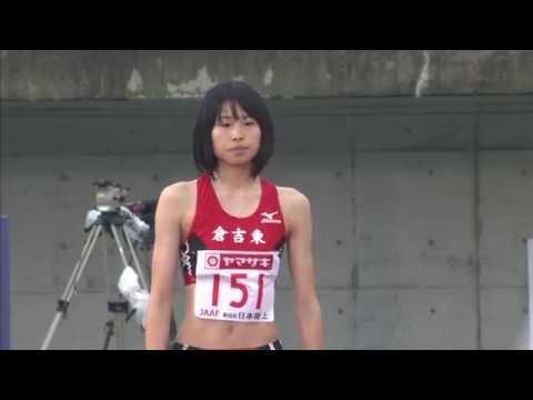 第98回日本陸上競技選手権大会 女子 走高跳 決勝 4位