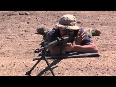 Israeli Dror LMG: Shooting & Disassembly