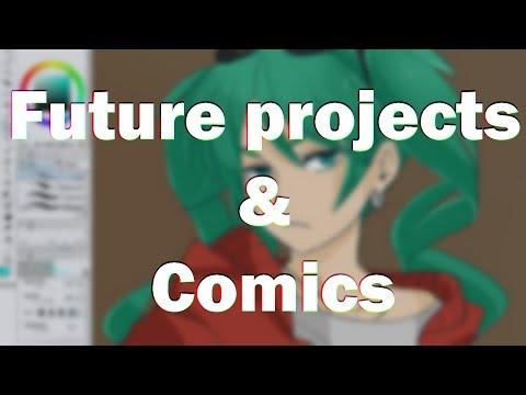 Future Projects & Comics - Feat. Sand Planet Miku