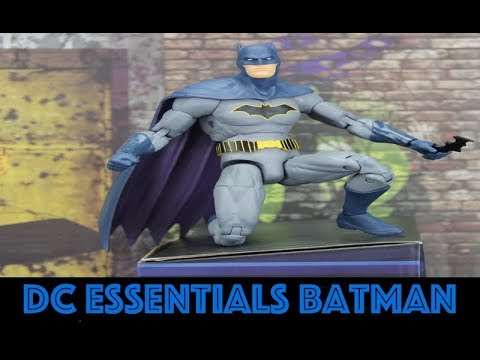 DC Essentials Rebirth Batman Action Figure Review Mp3