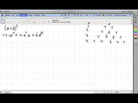 Pascalsches Dreieck Anwendung