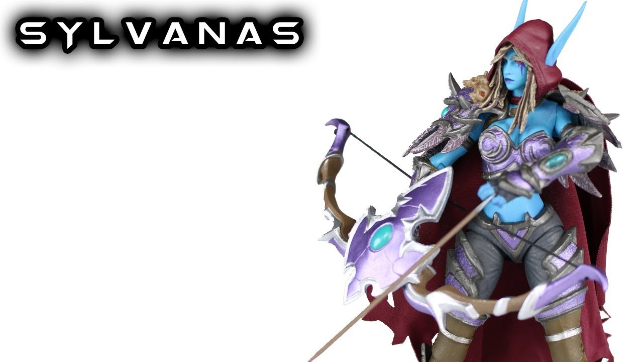 SYLVANAS WINDRUNNER FIGURE WARCRAFT WORLD OF HEROES OF THE STORM NEW